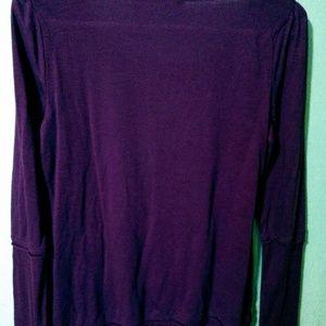 Purple long sleeve Juniors, DKNY t-shirt size m